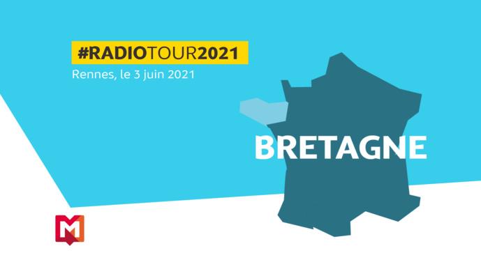 RadioTour Rennes : une étude exclusive de Médiamétrie