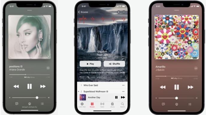 Apple Music : l'Audio Spatial et le Lossless sont maintenant disponibles