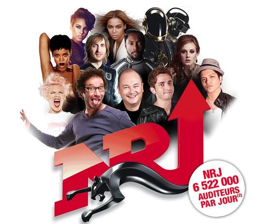 NRJ première radio de France