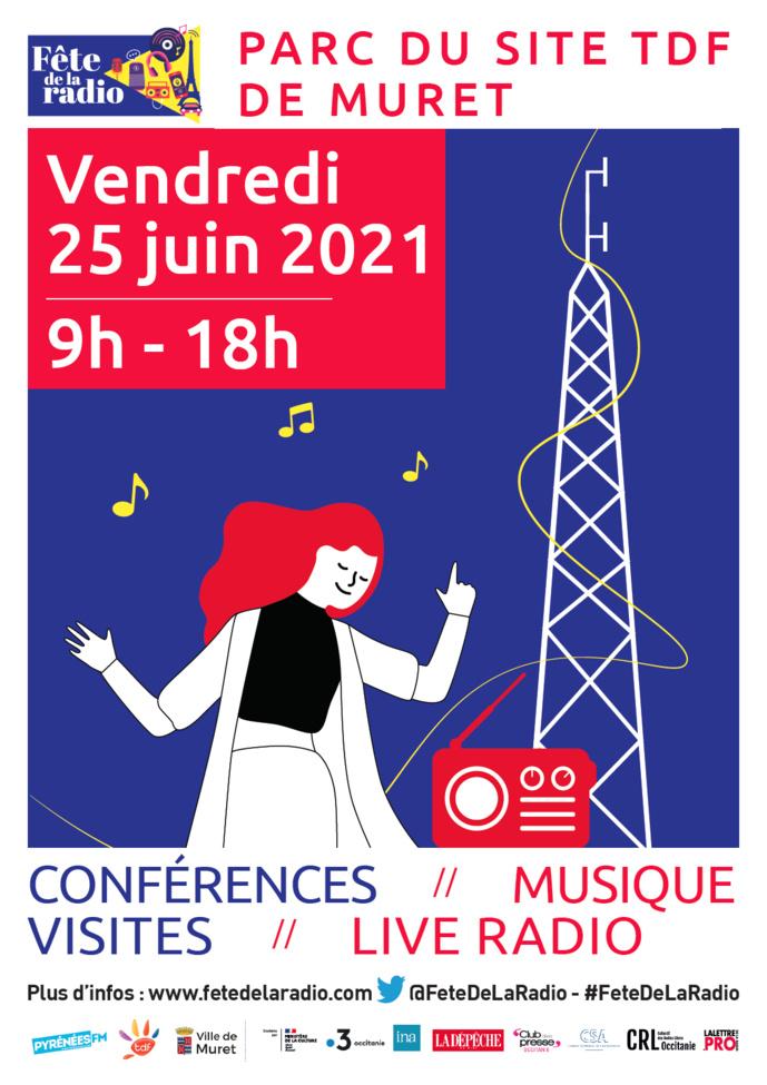 Pyrénées FM célèbre le site TDF de Muret