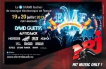 NRJ à l'Electrobeach Music Festival