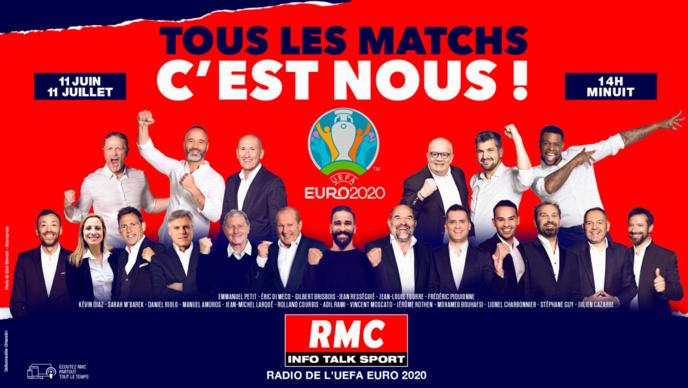 Euro : 51 matches à suivre sur RMC