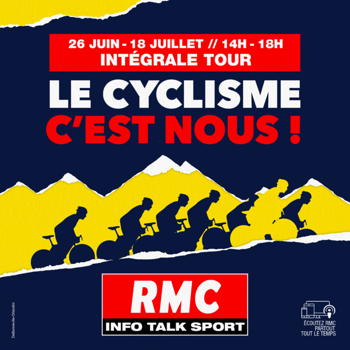 RMC assurera la couverture du Tour de France
