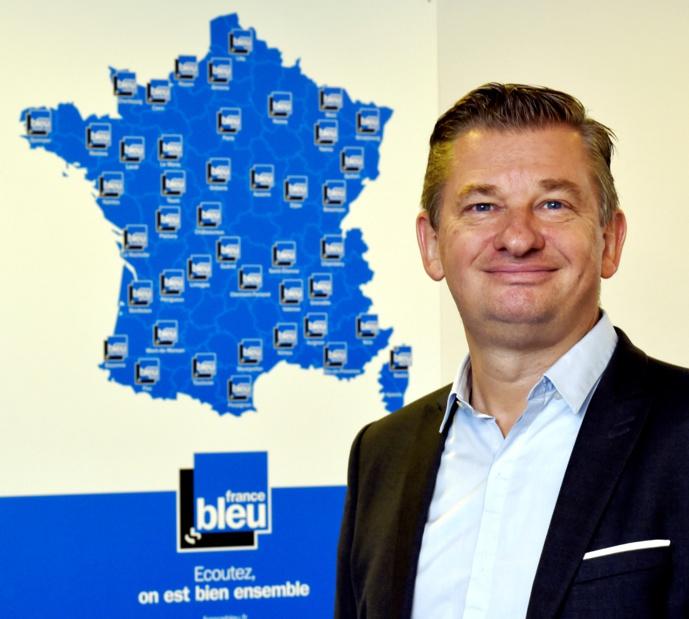 Animateur sur NRJ Strasbourg en 1984, Marc Scherrer dirige aujourd'hui France Bleu Sud Lorraine. © D.R.