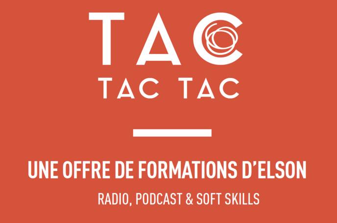 Podcasts : nouvelles formations par Tac Tac Tac
