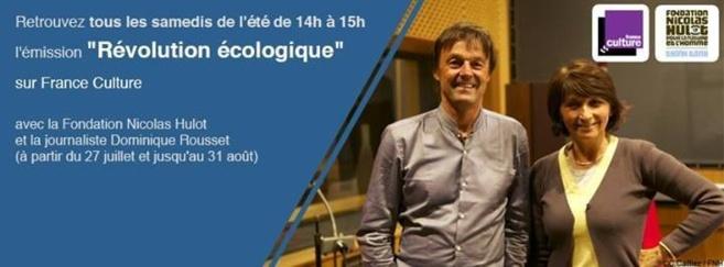 Révolution écologique sur France Culture