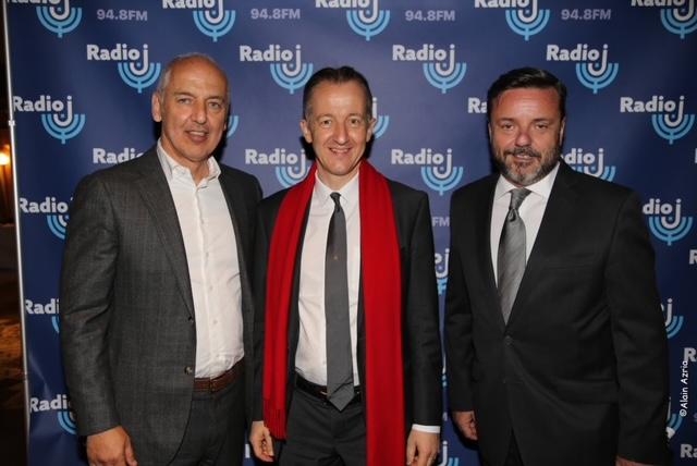Dominique Romano, actionnaire de Radio J avec Christophe Barbier et Emmanuel Rials