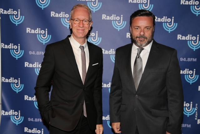 Hervé Godechot, membre du CSA et Président de la commission radio avec Emmanuel Rials