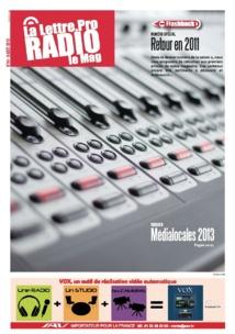 """Magazine """"La Lettre Pro de la Radio"""" : découvrez le n° 44"""