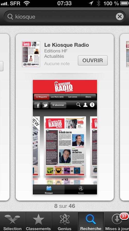 Abonnés - Consultez tous les numéros de votre Magazine La Lettre Pro de la Radio sur iPad et iPhone