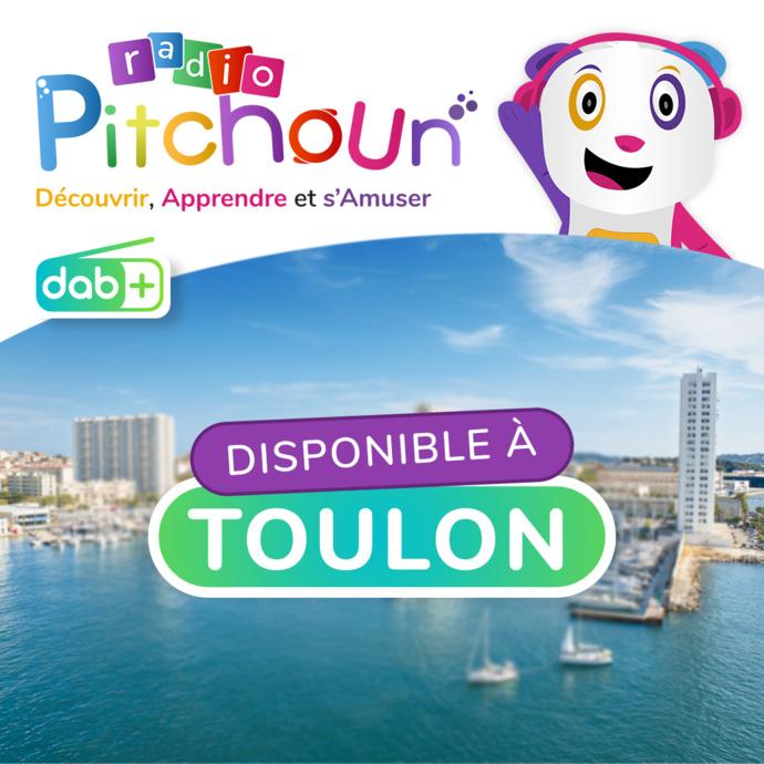DAB+ : Radio Pitchoun arrive à Calais et à Toulon