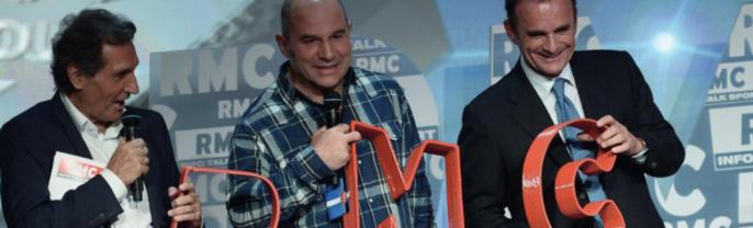 Frank Lanoux (à droite) a très activement participé au renouveau de RMC