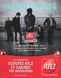 RTL2 en live avec Indochine