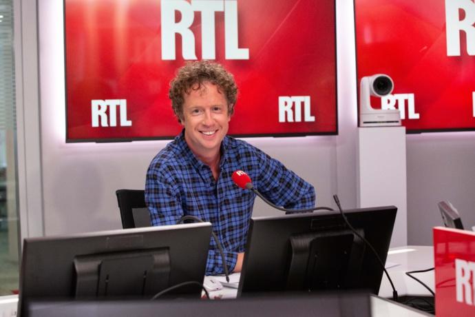 Jérôme Florin, à la tête de RTL Petit Matin depuis le 23 août 2021. © Gabrielle Ferrandi / Agence 1827 / RTL.