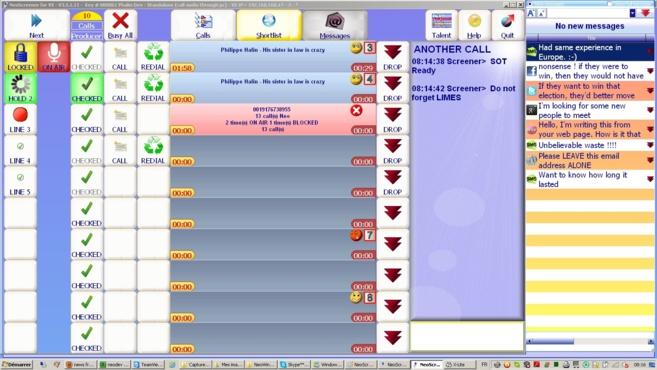 Neoscreener : un logiciel de gestion interactive des appels téléphoniques adapté aux émissions de radio