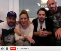 Bruno Guillon en TwitCam