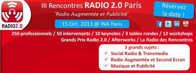 Cap sur les Rencontres Radio 2.0