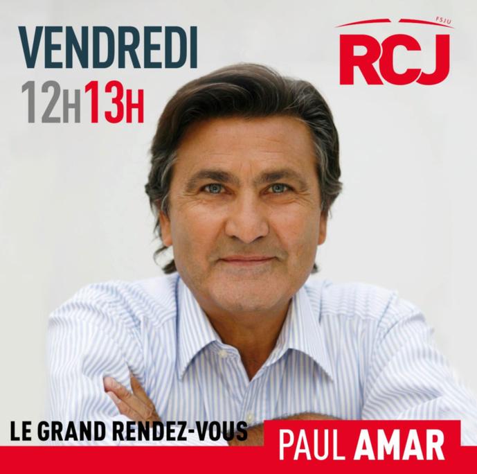Paul Amar rejoint l'équipe de RCJ