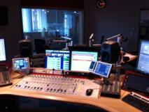 Le studio de France Bleu Gironde © Nicolas Fauveau - Radio France