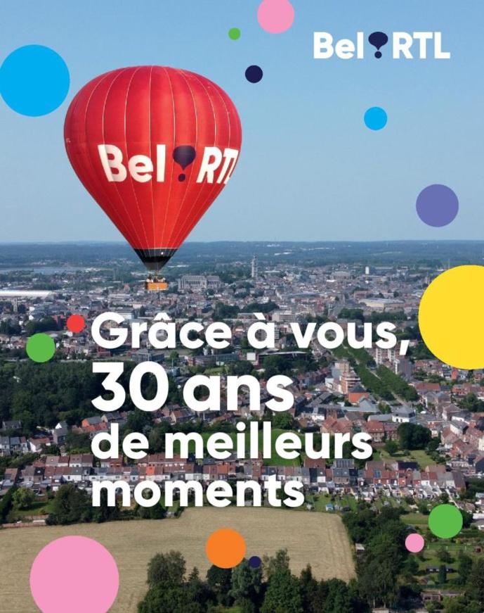 Une campagne pour fêter les 30 ans de Bel RTL