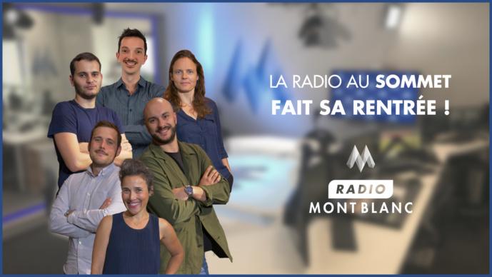 Une rentrée au sommet pour Radio Mont Blanc