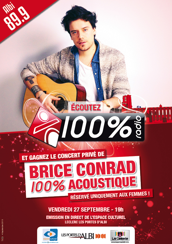 100 % avec Brice Conrad