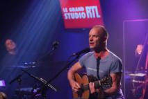 Sting sur la scène du Grand Studio RTL © Fred Bukajlo - Abacapress pour RTL