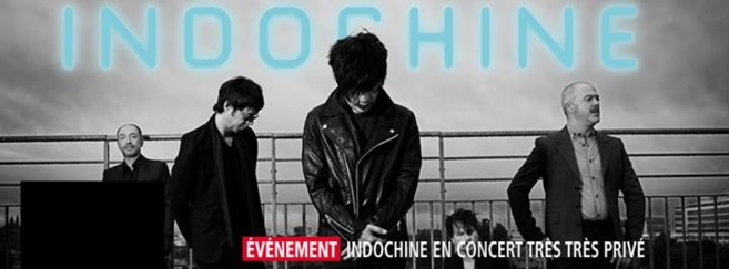 Concert Très Très Privé avec Indochine