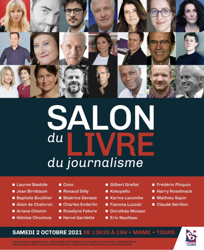 Tours : un salon du livre de journalisme