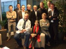 Le jury des Jeunes Talents en 2013 présidé par Jean-Luc Reichmann