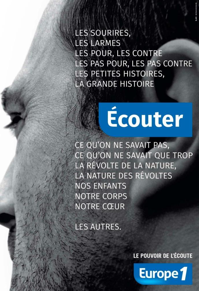 """""""Le pouvoir de l'écoute"""" : la nouvelle campagne d'Europe 1"""