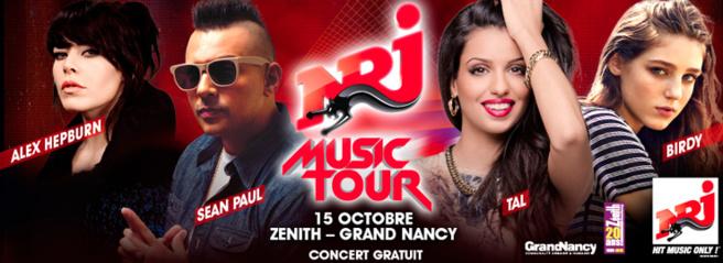 NRJ Music Tour à Nancy