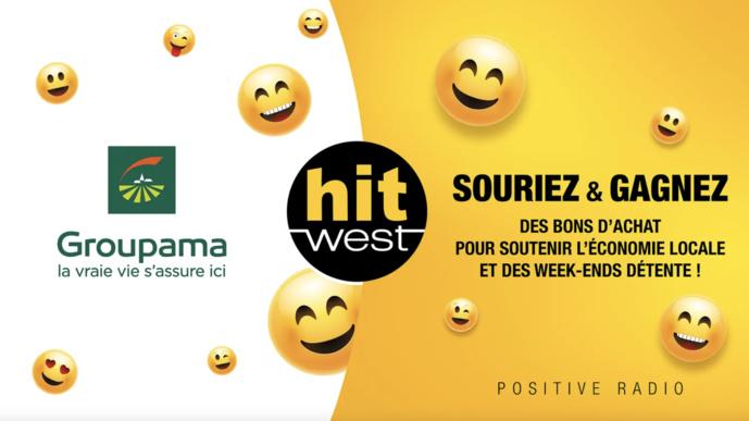 Hit West distribue des milliers de sourires
