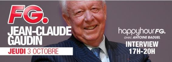 "Jean-Claude Gaudin dans ""L'Happy Hour"""