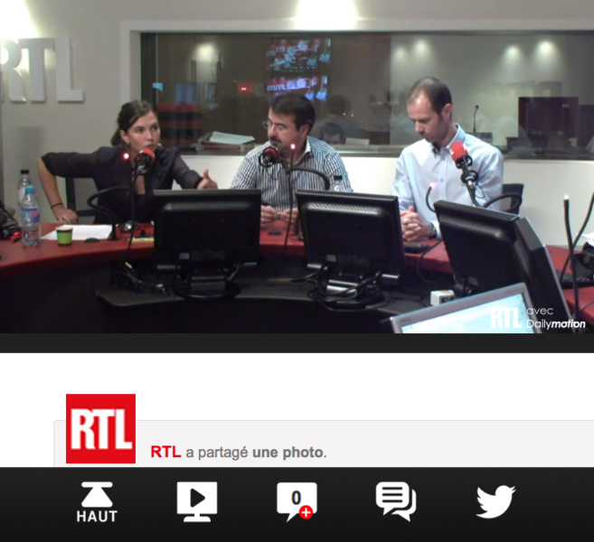 RTL mise sur le Second Ecran
