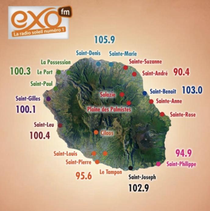 La Réunion : nouvelle identité pour EXO FM
