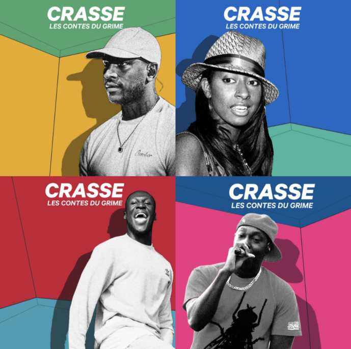 "Podcast : Radio Nova lance ""Crasse, les contes du Grime"""