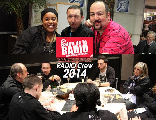 La team du Salon de la Radio en février dernier