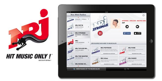 NRJ préférée sur l'iPad