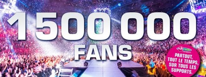 1 500 000 fans pour Fun Radio