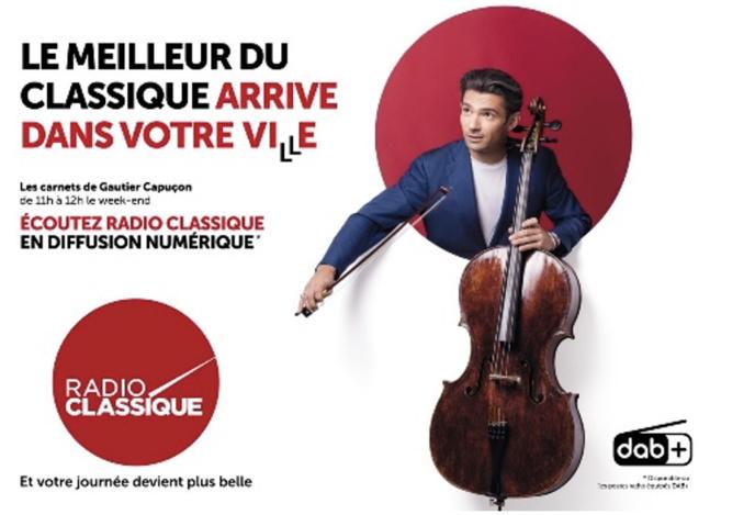 DAB+ : Radio Classique se déploie sur l'axe Paris Lyon Marseille