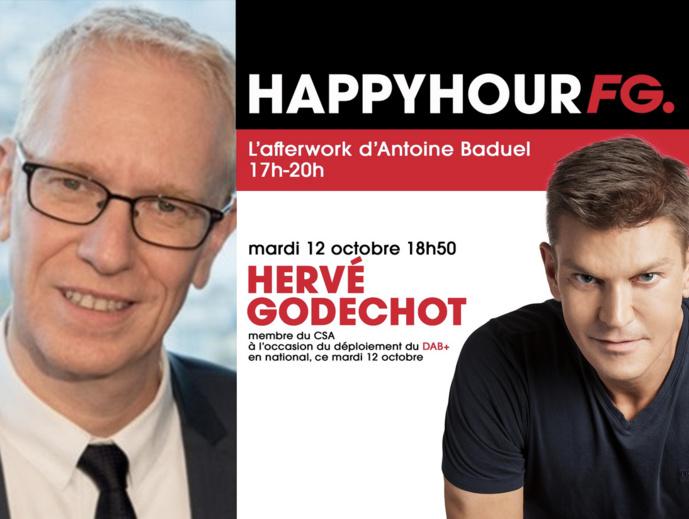 Ce mardi soir, Hervé Godechot est l'invité de Radio FG