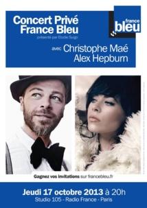 Belle pirouette de France Bleu