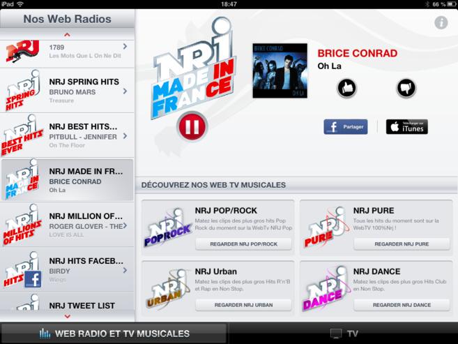 Le groupe NRJ propose désormais 210 webradios  disponibles gratuitement partout et tout le temps sur les sites et applications