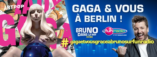 Fun : la radio officielle de Lady Gaga