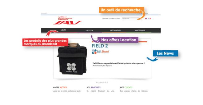 SAV travaille avec NRJ, Alouette, Europe 1, TF1 ou encore Public Sénat