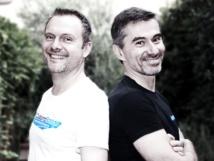 Christain Aubry et Pierre Gagné portent fièrement les couleurs de Clubbing Station