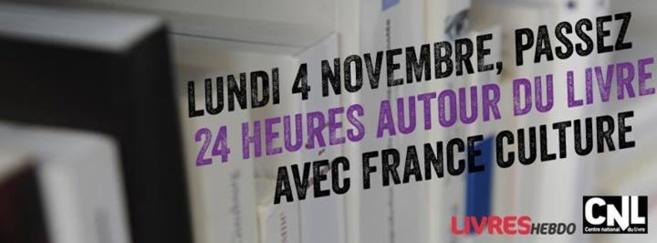 24h du livre sur France Culture