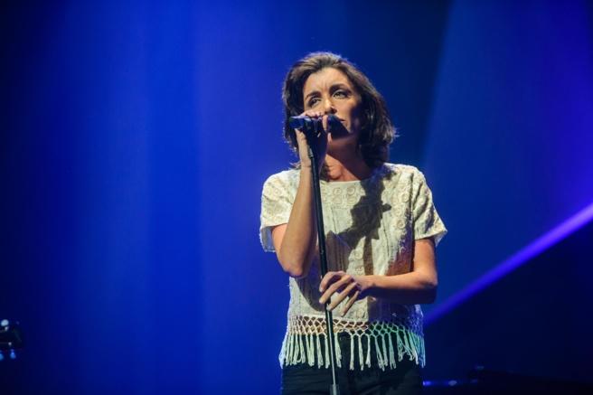 La chanteuse Jenifer ©  Capa Pictures / Europe 1
