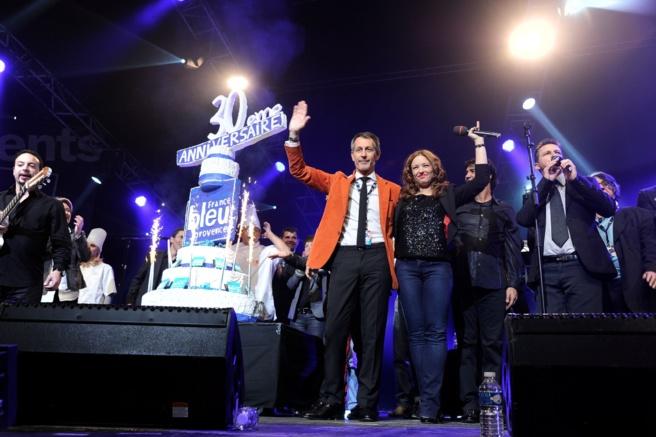 France Bleu Provence a soufflé ses 30 bougies durant la soirée